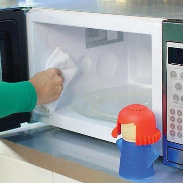 hoe maak ik mijn magnetron schoon