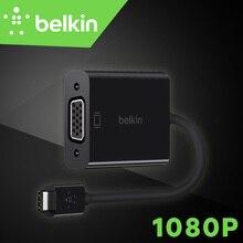 Новое Прибытие Belkin Оригинальный USB-C чтобы Кабель-Адаптер VGA 1080 P для Новых MacBook Pro для Ноутбуков с Типа С порт для проекторы