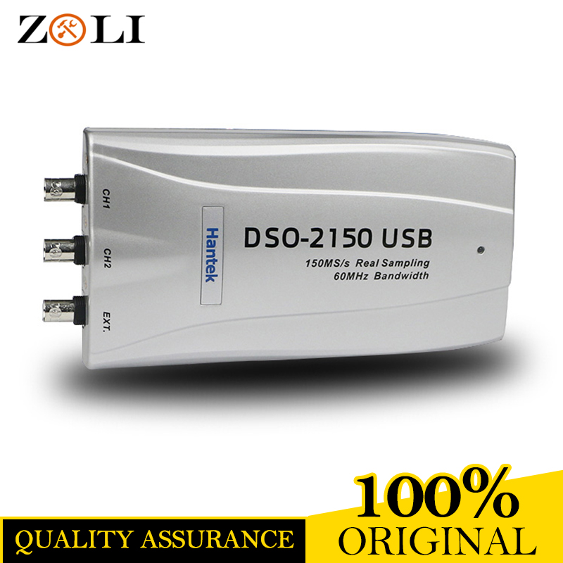 2 channel oscilloscope with stable performance Hantek DSO2150 wholesale in stock DSO 2150 with best high