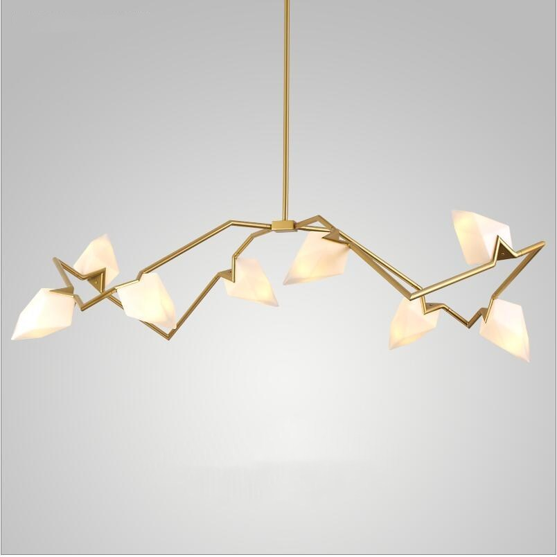 Nordic Roll Hill 8/12 Heads LED gold chandeliers luminaire light lamp white frosted glass shade gold suspended hanging lightNordic Roll Hill 8/12 Heads LED gold chandeliers luminaire light lamp white frosted glass shade gold suspended hanging light