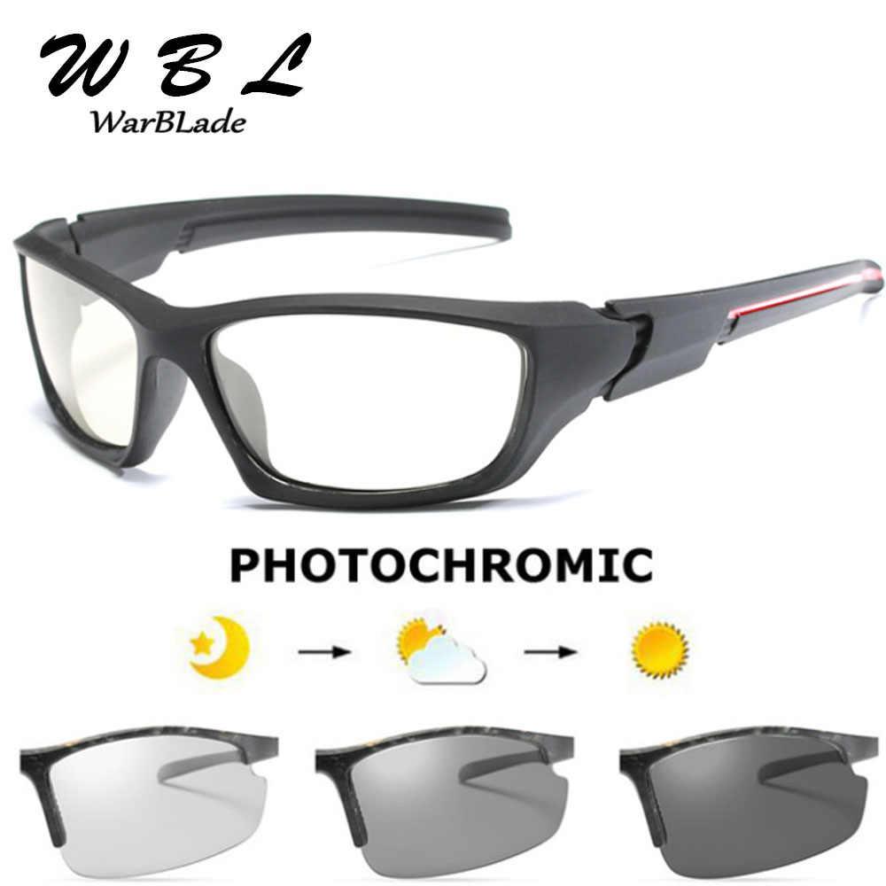 Mens Ao Ar Livre de Condução Óculos De Sol De Pesca Lente HD óculos de Sol Óculos Polarizados Óculos de Sol óculos de Sol Fotocromáticas Transição B1031
