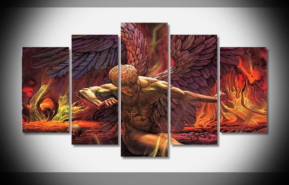 4808 Judas Priest тяжелый металл группы развлечения музыка Hard Rock обложки альбомов Плакат оформлена Gallery Wrap дома