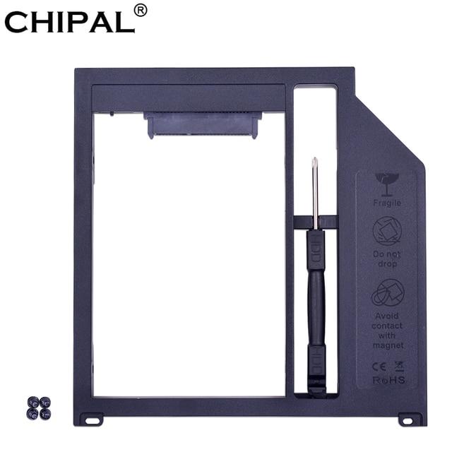 "CHIPAL SATA 3,0 2nd HDD Caddy 9,5mm para 2,5 ""7mm 9mm Disco Duro SSD para apple Macbook Pro 13 ""15"" 17 ""SuperDrive Optibay"