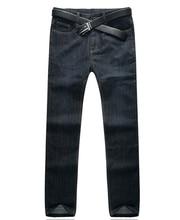 Мужской Slim Fit брюки для мужчин модные мотоциклетные мужские прямые джинсы джинсовые брюки в байкерском стиле мужской Известный бренд плюс размер 34 -52 E492