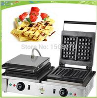 double pan commercial waffle machine lolly waffle maker muffin waffle machine waffle stick machine