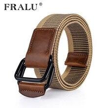 FRALU 2017 Military Belt Outdoor Tactical Belt Men & Women High Quality Belts For Jeans Male Canvas Straps 6 Colors large size