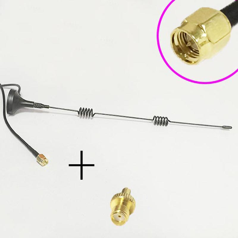 3G Antenna 5dBi 800-2170 MHZ magnetic base 3M extension cable SMA male +SMA Female switch TS9 Male RF Coax Adapter convertor freeshipping gps antenna sma port 3m wire navigator antenna