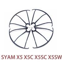 ขายส่งSYMA X5C X5SW RC Q Uadcopterอะไหล่ยามวงกลมปกป้องกรอบแหวนส่วนสำหรับส่วนจมูก