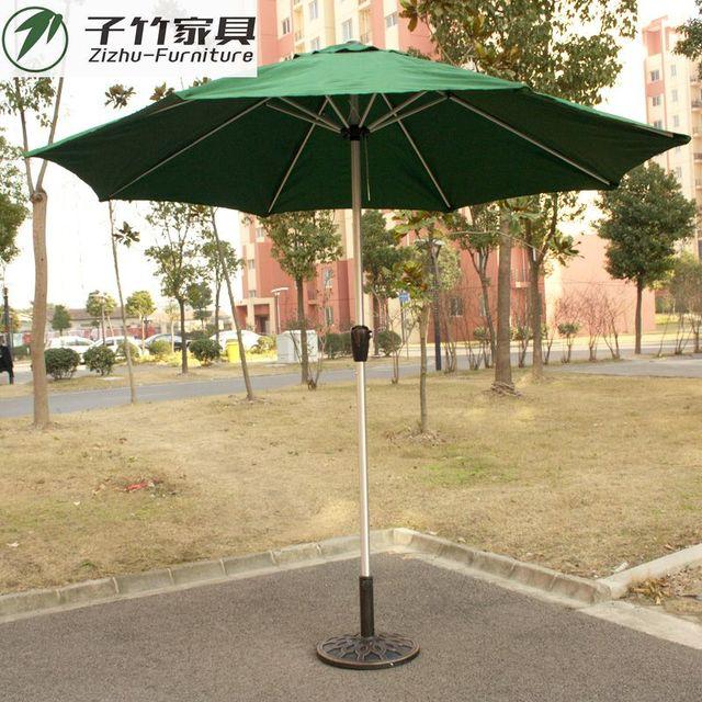 2 Meters 7 Outdoor Garden Terrace Garden Umbrellas Aluminum Frame Furniture  Aluminum Upright Pillar Umbrella Umbrella