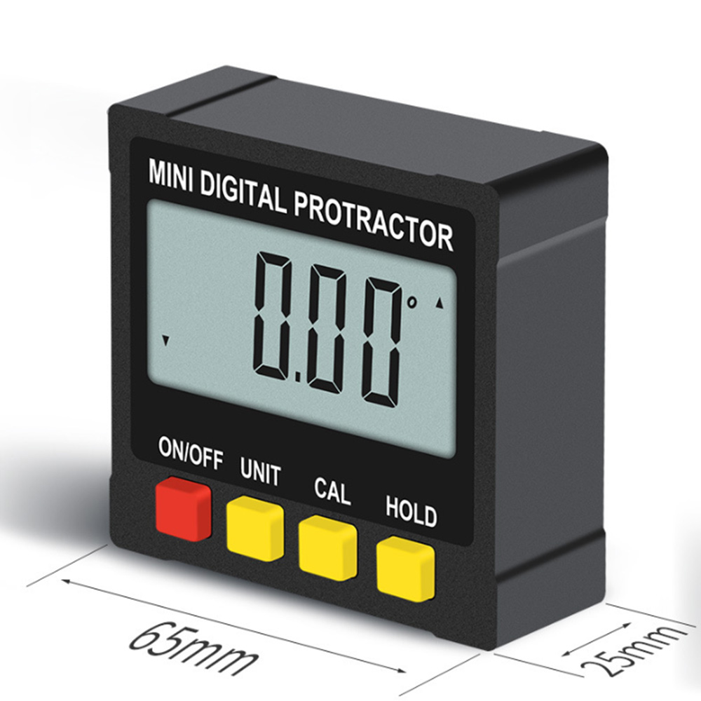 Image 3 - 360 Degree Mini Digital Inclinometer Level Electronic Protractor Angle Ruler Measurment Gauge Meter Finder with Magnet Hot Sale-in Protractors from Tools
