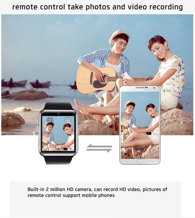 smart watch gt08 android ios