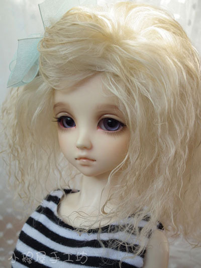 Free Shipping,Small bjd wig wool roll 1/3 1/4 1/6 bjd doll wig sd Multicolor optional, support customization uncle 1 3 1 4 1 6 doll accessories for bjd sd bjd eyelashes for doll 1 pair tx 03
