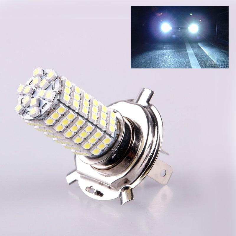 Light Bulbs Honest Hot Sale Durable Car Vehicle H4 3528 102 Smd Led Warm Pure White Fog Headlight Lamp Bulb 12v #47085