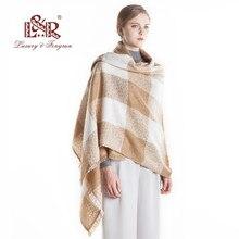 e35808803efe 2018 invierno cachemira invierno chales bufanda caliente para las mujeres  invierno bufanda lujo marca Pashmina Foulard Femme env.