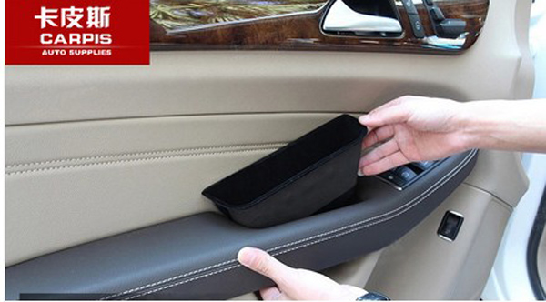 Car Front Rear Door Handle Storage Box Car Armrest Storage Box For ...