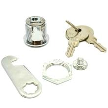 Aluminum Alloy Cylinder Barrel Lock Set 2 Cles for Mailbox Drawer 20mm TSH Shop