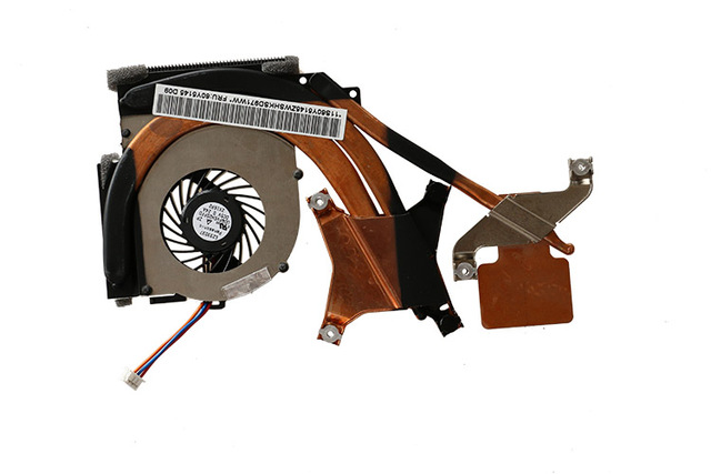 Lenovo ThinkPadT410S notebook CPU fan heat sink independent graphics card new original 60Y5145