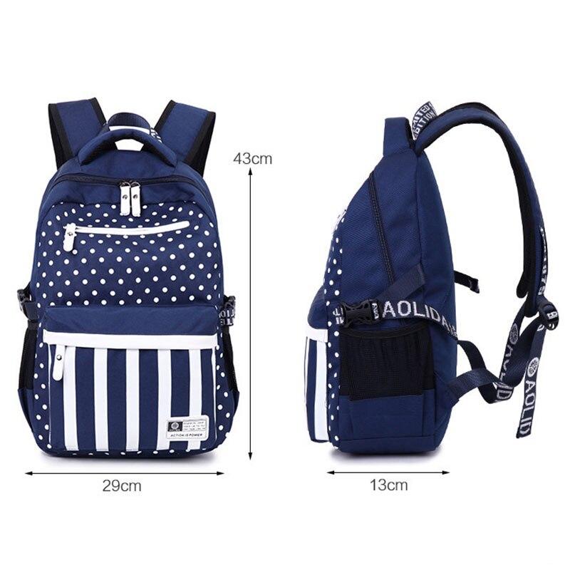adolescente mochila impressão mochilas para Comprimento : 29cm (11.31inch)