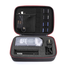 New EVA Hard Professional Portable Recorder Case with DIY foam inlay for ZOOM H1, H2N, H5, H4N, H6, F8, Q8 Handy Music Recorders