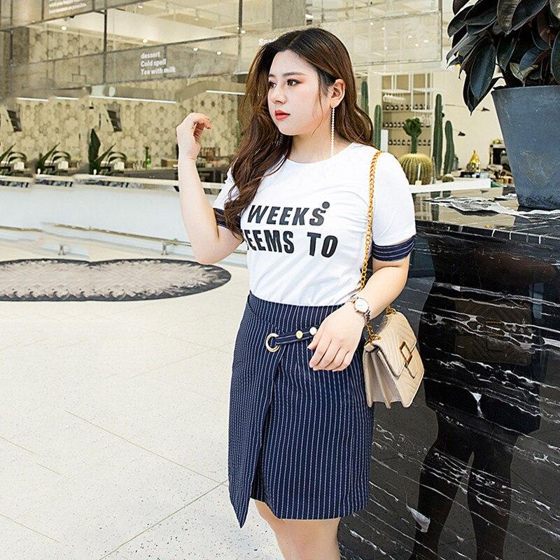 Robe Bureau 5xl Costumes Taille Sundresses Dames Tailleur Coréenne Midi Uniforme À Plus Rayé Travail Ete Sexy Nw3 Photo Color 4xl 2018 Femme qStwc0xaWE