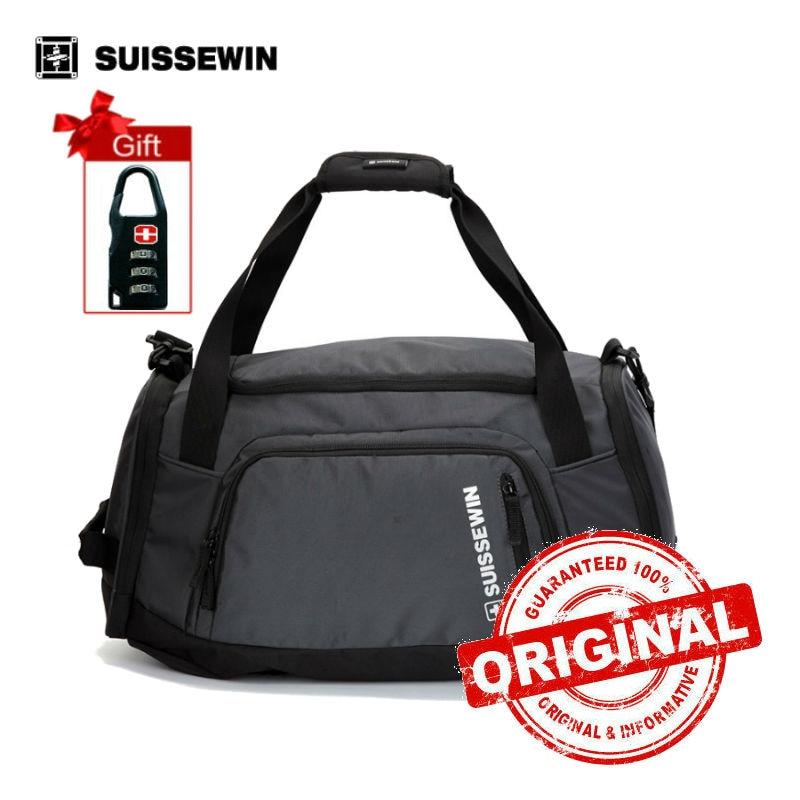 suissewin brand girls travel tote bag women men big shoulder bag large capacity lightweight portable duffel - Travel Tote Bags