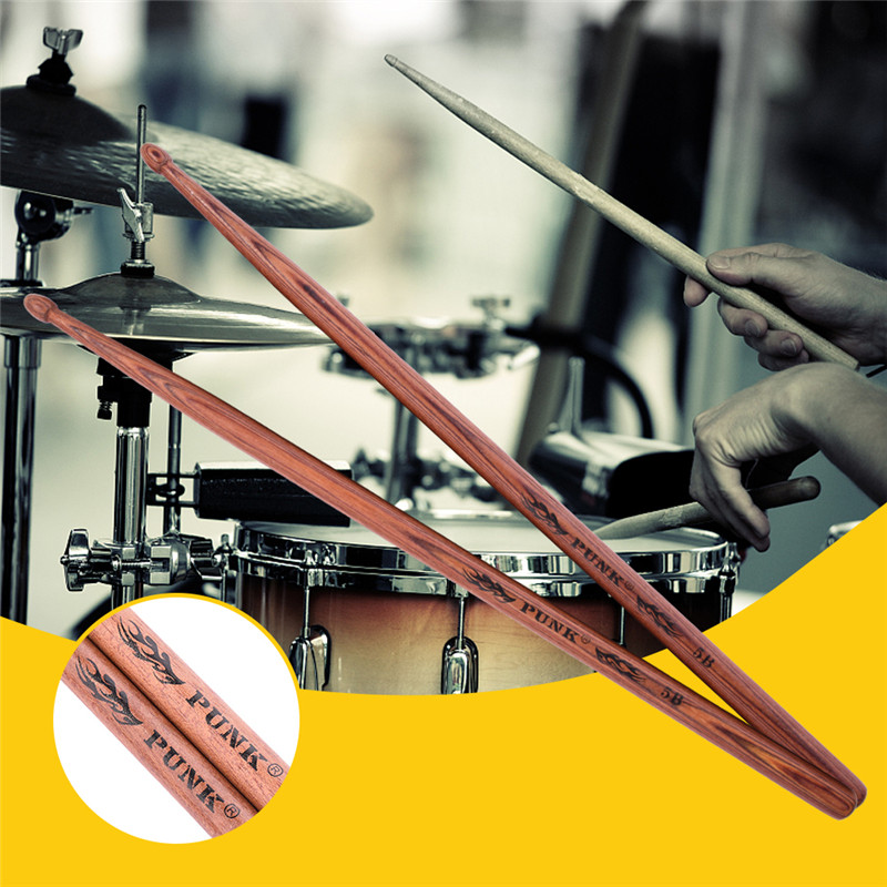 1 Pair Of Drum Sticks 5A 5B 7A African Lignumvitae Wooden Drum Sticks Percussion Instruments Parts & Accessories диск replay 8хr18 5х112 30 66 6 sf