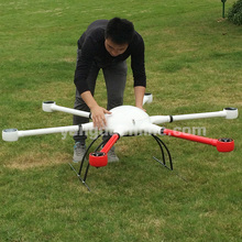 Industrial Drone Frame Long Flight Time Rainproof Hexacopter Airframe for Camera Drone Inspection/Cinematography/Surveillance