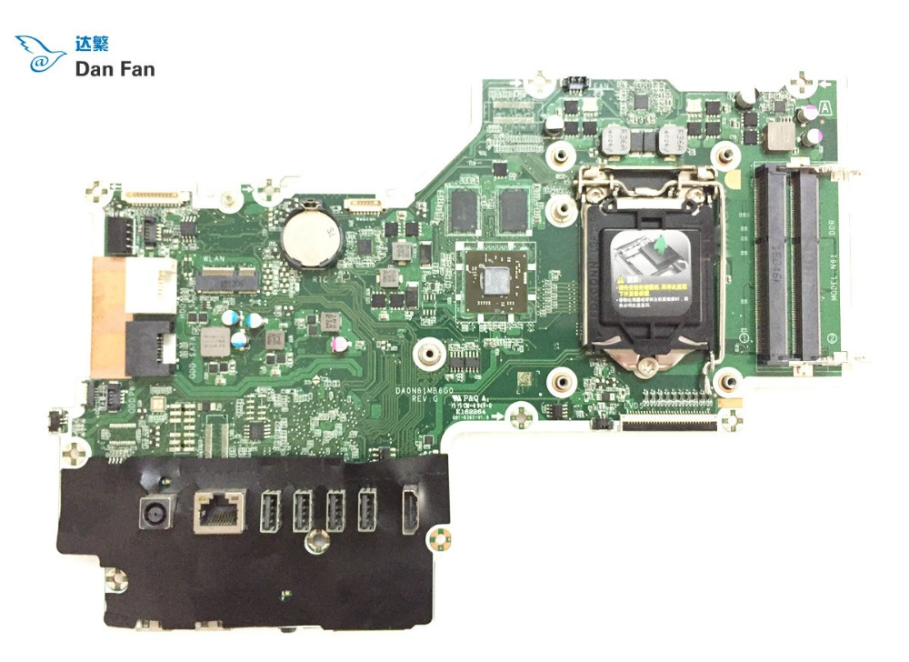 799346-003 For HP Pavilion 23-Q 27-N AIO Motherboard 828619-003 DA0N61MB6G0 799346-503 Mainboard 100%tested Fully Work