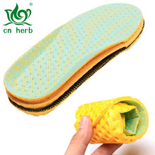 Cn Herb Sports Insole Breathable Hole High Elastic Shock Absorber Insoles