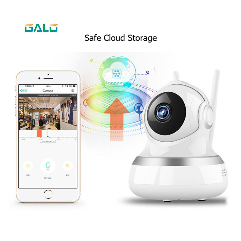 Cloud Storage Cheap Security Camera 960P 100W Resolution Wifi IP Camera