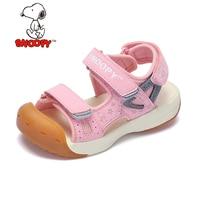 Snoopy Boys Sandals For Children Summer Non slip Toddler Orthopedic Shoes Anti Kick Beach Sandals