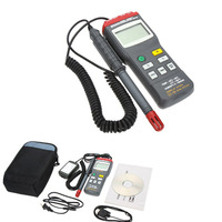 Ms6503 3 1/2 Digital Thermo Hygrometer Thermometers Temperature Humidity Meter Tester W Timer & Rs232 Interface