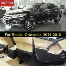 Автомобильные тормозные колодки спереди и сзади двери сиденья анти-kick коврик автомобиля-Средства для укладки волос для honda crosstour