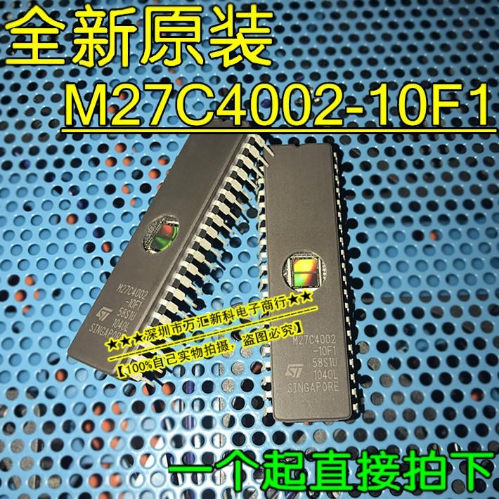 1PCS M27C4002-10F1 M27C4002 DIP-40 EPROMs ST NEW