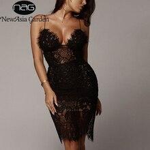 Yaka Parti Elbise Elbise