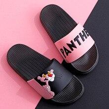 cute Non-slip Children beach shoes baby soft floor indoor slipper boys and girls anti-slip home barefoot kids slippers