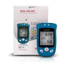 SINOCARE 3C CE mmol/L Safe-UG Set Blood Glucose and Uric Acid Meter +50 U trips&50 G trips Rapid use and testing English Manual