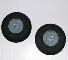 D70 3 H20mm EVA Sponge Tyre Plastic Rim wheels RC model plane parts wholesale