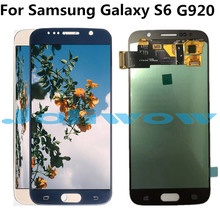oled LCD For Samsung Galaxy S6 LCD Display with Touch Screen  Assembly Replacement For Samsung S6 G920 G920A G920F LCD new tested for samsung galaxy s6 lcd g920 g9200 display screen with touch digitizer free tools assembly 1 piece free shipping