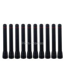 10PCS Walkie Talkie UHF 400-470MHz Short Antenna for ICOM F21 F43 F80 F4001 F4161 Two-way Radio antenna