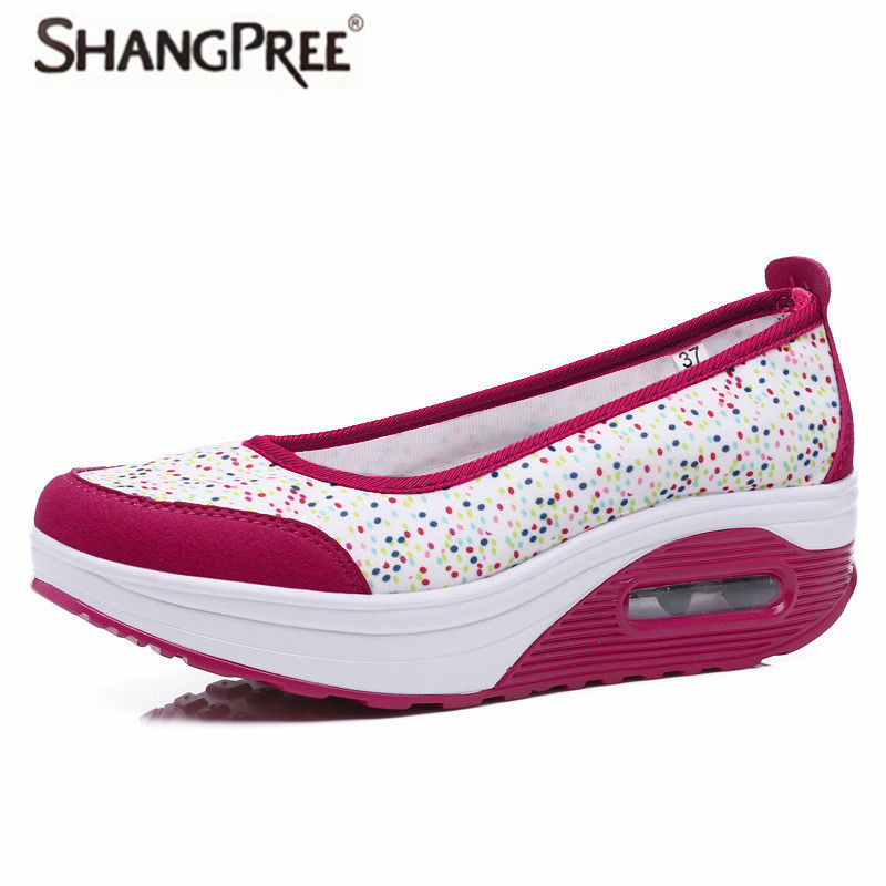Large size 35-42 Height Increasing Autumn Shoes Women's Casual Shoes Fashion Walking Shoes Women Swing Wedges Shoes Breathable minika women casual canvas shoes air cushion soles slip on swing fitness shoes platform wedges walking height increasing shoes