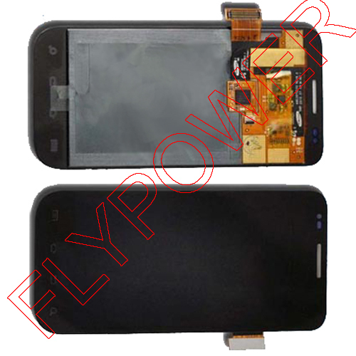 LCD Display For Samsung Fascinate 4G T959 LCD Touch Screen Digitizer Assembly Black By Free shipping