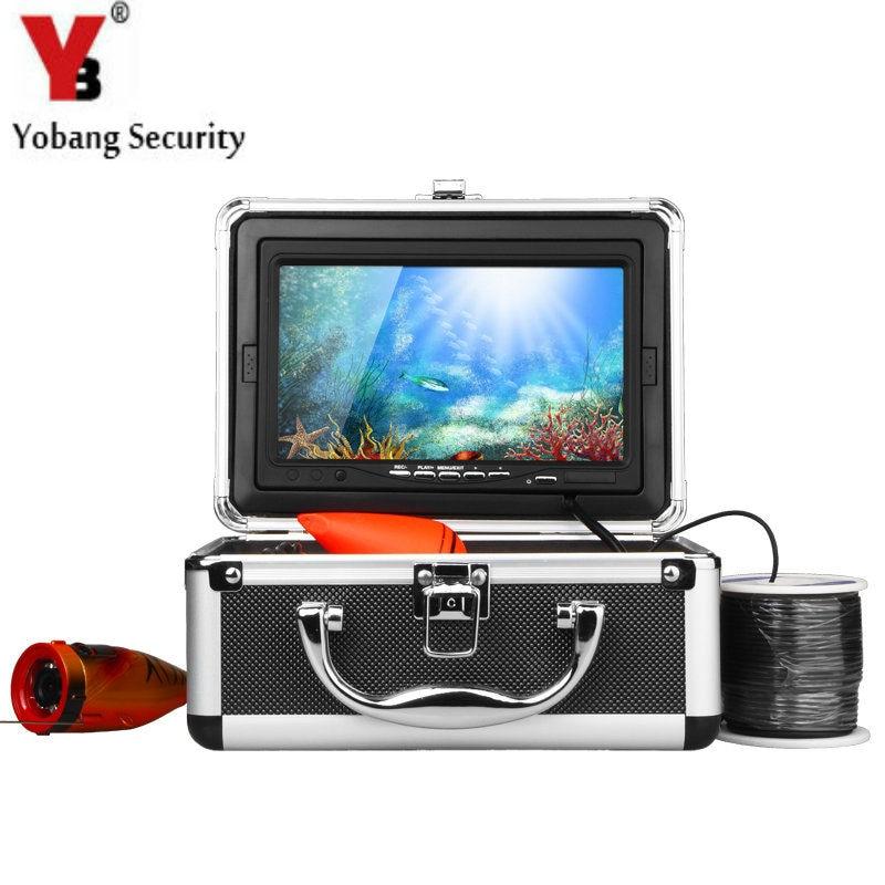 YobangSecurity HD 1000TVL Underwater Fishing Camera Fish Finder 7 Video Camera Monitor Anti Sunshine White IR LED light укрывной материал суф 30 белый 2 1х10 м grinda 422372 21