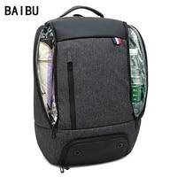 2019 Men Backpack High capacity 17 inch Laptop Backpack Multifunction Travel Bag women Casual school Backbag