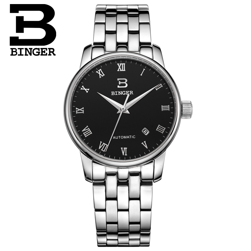 Zwitserland horloges heren luxe merk18K goud Horloges BINGER bedrijf - Herenhorloges - Foto 2