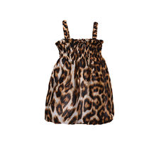 4df81f05828 Fashion Kids Newborn Baby Girl Dress Leopard Off Shoulder Party Pageant Tube  Top Suspender Dresses Summer Outfits Clothes 0-3T