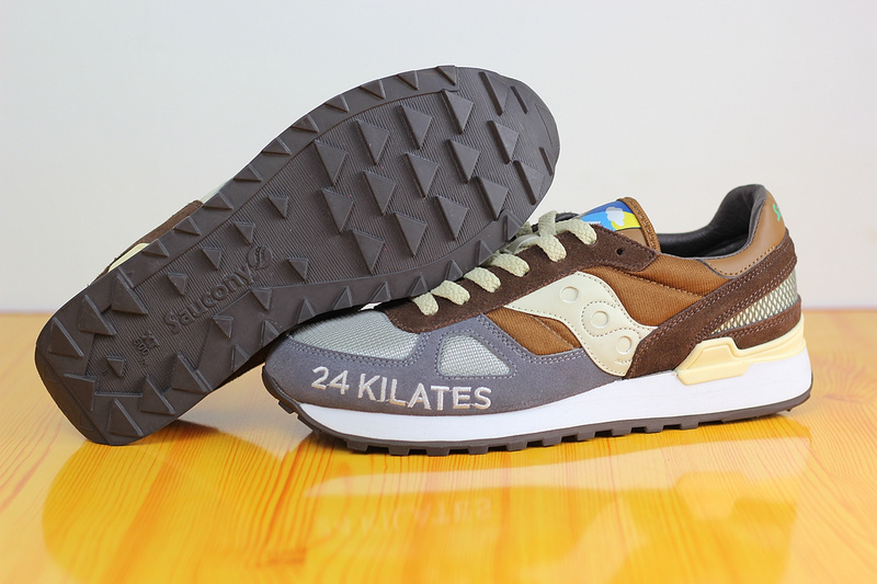Free Shipping Saucony Shadow 24 Kilates Women's Shoes,New Colors Saucony 24 Kilates Grey/Brown SAUCONY Hiking Shoes free shipping saucony shadow 5000 men s