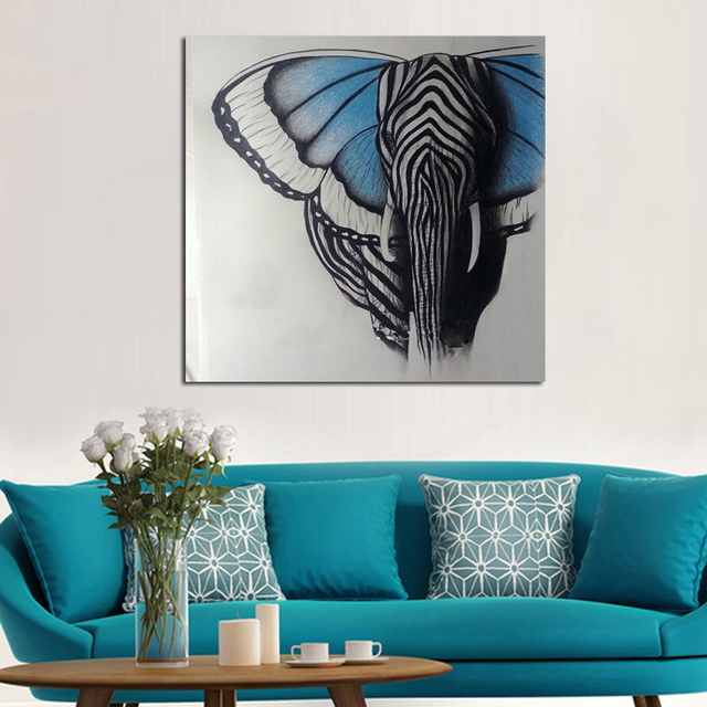 Abstract Wall Art Canvas aliexpress : buy abstract wall art handpainted oil painting