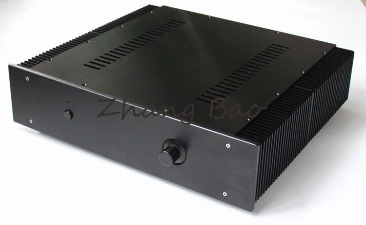 WA43 Blak Full aluminum amplifier chassis / Pre-amplifier / Class A amplifier/ case / DIY box wa