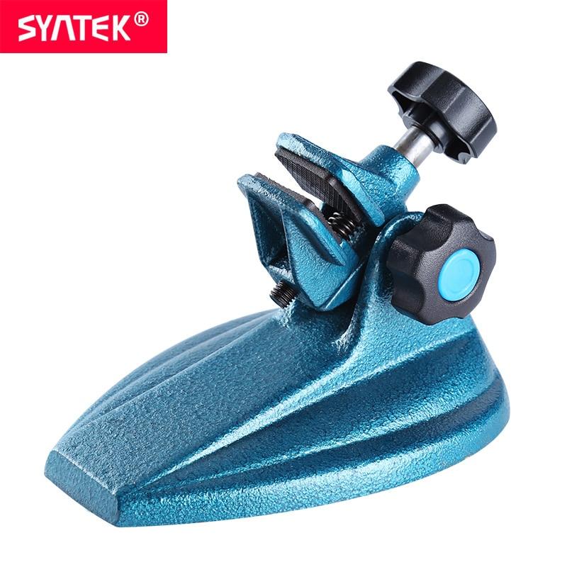 Syntek Micrometer Stand Carbide Alloy Angle Adjustable Digital Micrometer Gauge Durable Measuring Tools CE SGS